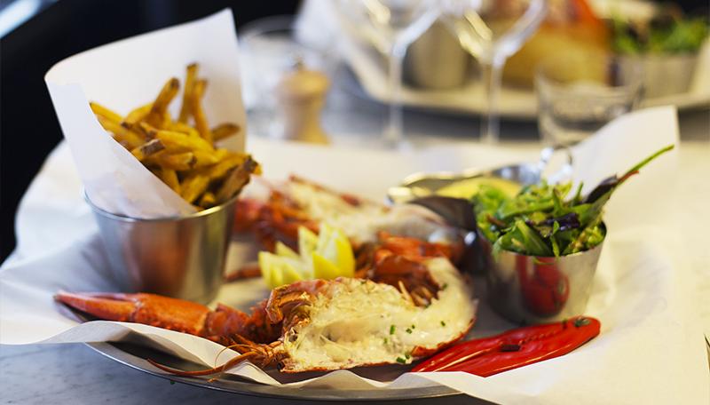Lobster Roll dans notre restaurant à Paris